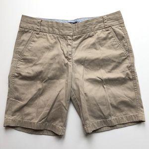 J.Crew 9 inch Chino Shorts Khaki